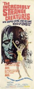 Incredibly Strange Creatures Film Poster