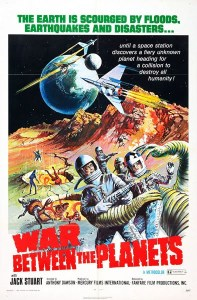 War Between the Planets 1966 Poster