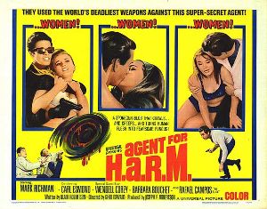Agent for H.A.R.M. Movie Poster