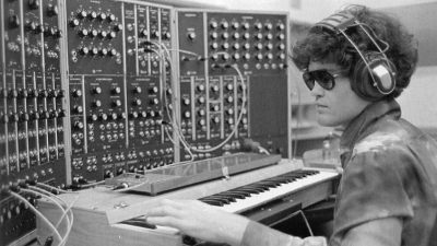 The Monkees' Mickey Dolenz with Moog Organ