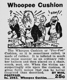 Whoopee Cushion Advert