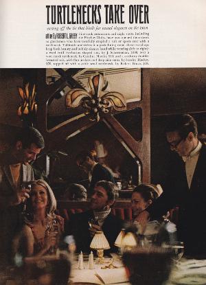 Playboy Turtleneck Advert