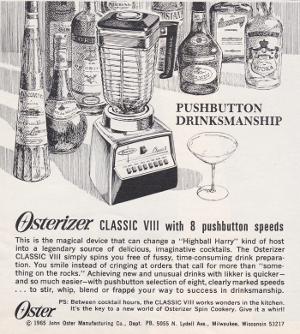 Playboy Osterizer Advert