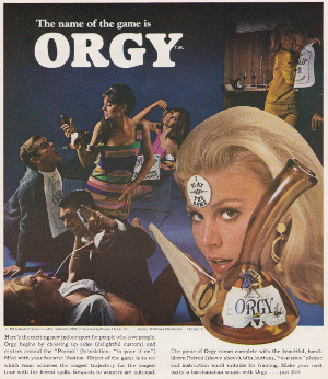 Playboy Orgy Game Advert