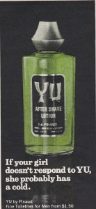 Playboy Yu After Shave Advert