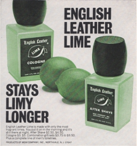 Playboy English Leather Lime Advert