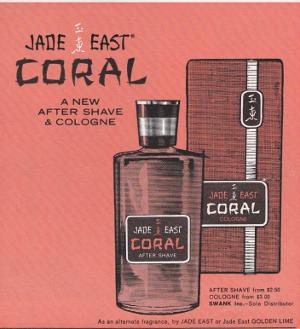 Playboy Jade East Coral Advert
