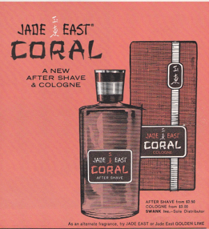Playboy Jade East Coral Advert