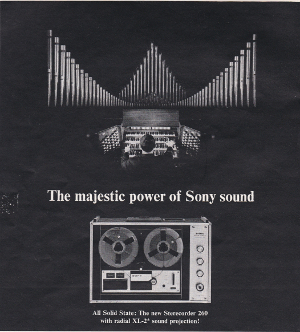 Playboy Sony Stereo Advert