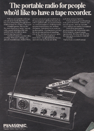 Playboy Panasonic Stereo Advert