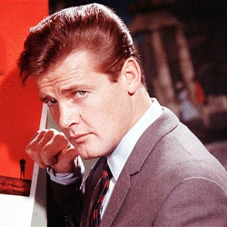 Sir Roger Moore as Simon Templar