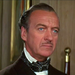 Sir David Niven as Sir James Bond